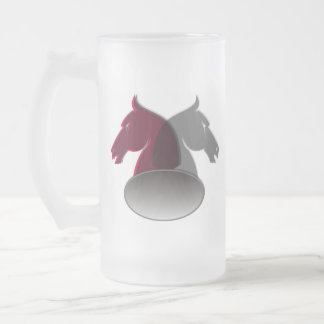 Knights Frosted Beer Mug
