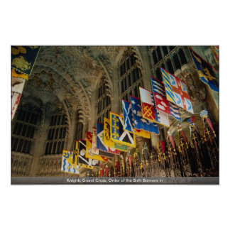 Knights Grand Cross, Order of the Bath Banners in Poster