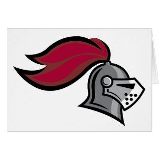 Knight's Helmet Card