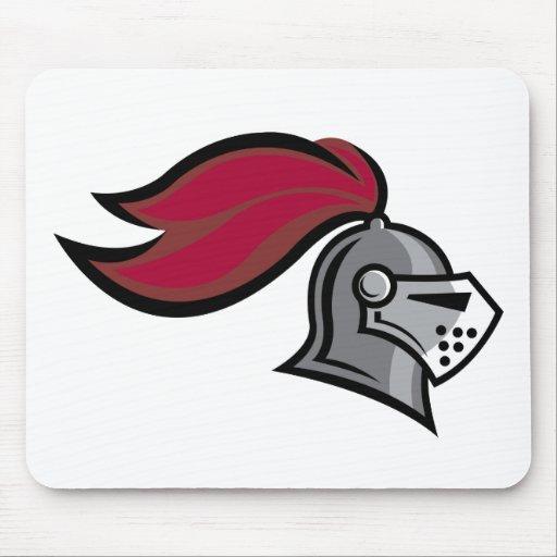 Knight's Helmet Mouse Pad