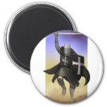 Knights Hospitaller 2 Inch Round Magnet