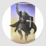 Knights Hospitaller Classic Round Sticker