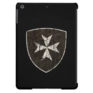 Knights Hospitaller Cross, Distressed Case For iPad Air