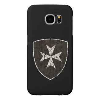 Knights Hospitaller Cross, Distressed Samsung Galaxy S6 Cases