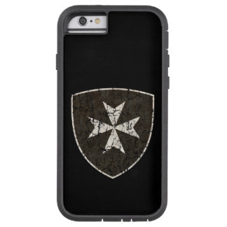 Knights Hospitaller Cross, Distressed Tough Xtreme iPhone 6 Case