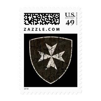 Knights Hospitaller Cross Stamps