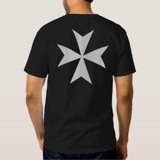 Knights Hospitaller Front & Back Cross Shirt