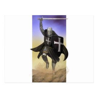 Knights Hospitaller Postcard