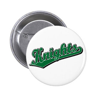 Knights in Green Pinback Button