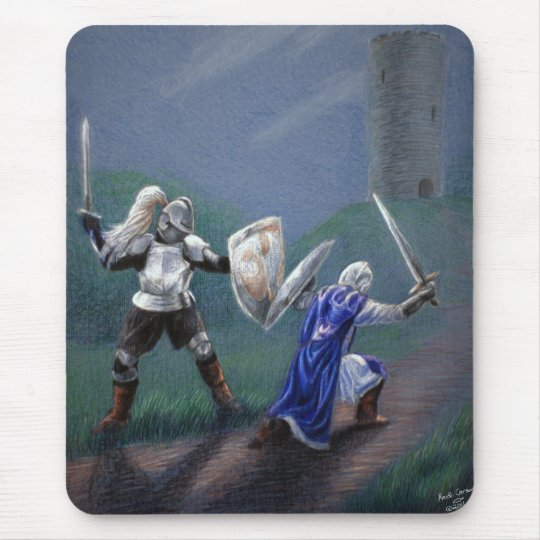 Knights in Narnia Mouse Pad