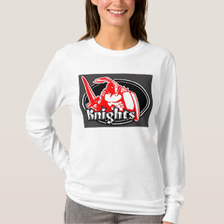 Knights ladys fitted hoodie
