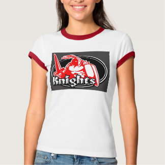 Knights ladys ringer t T-Shirt