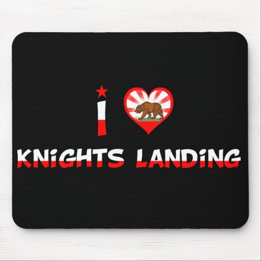 Knights Landing, CA Mouse Pad