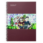 knights love story spiral notebook