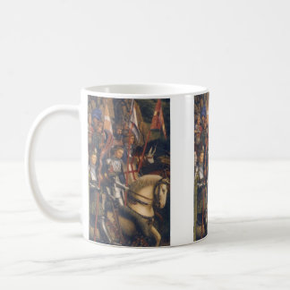 Knights of Christ (Ghent Altarpiece), Jan van Eyck Coffee Mug