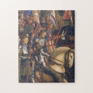 Knights of Christ (Ghent Altarpiece), Jan van Eyck Jigsaw Puzzle