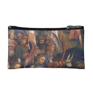 Knights of Christ (Ghent Altarpiece), Jan van Eyck Makeup Bag