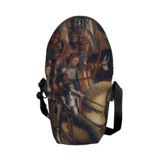 Knights of Christ (Ghent Altarpiece), Jan van Eyck Courier Bag