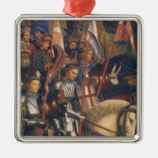 Knights of Christ (Ghent Altarpiece), Jan van Eyck Metal Ornament
