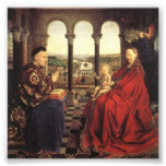 Knights of Christ (Ghent Altarpiece), Jan van Eyck Photo Print