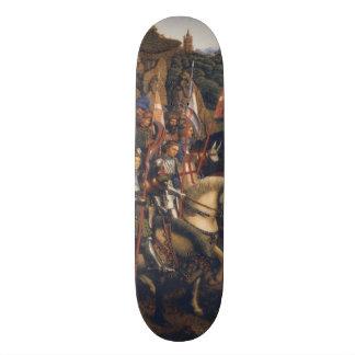 Knights of Christ (Ghent Altarpiece), Jan van Eyck Skateboard