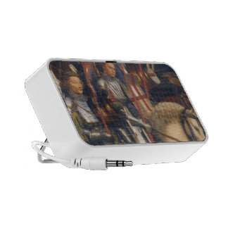 Knights of Christ Ghent Altarpiece Jan van Eyck iPod Speaker