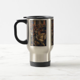 Knights of Christ (Ghent Altarpiece), Jan van Eyck Travel Mug