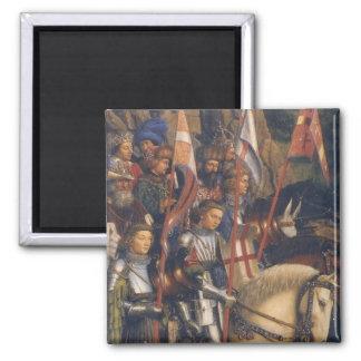 Knights of Christ (Ghent Altarpiece) Magnet