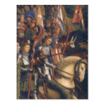 Knights of Christ (Ghent Altarpiece) Post Card