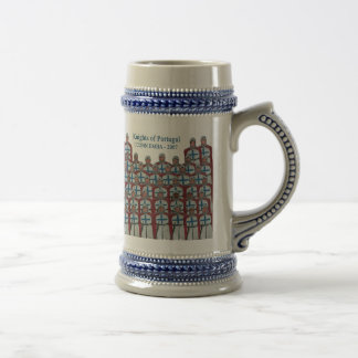 Knights of Portugal Beer Stein