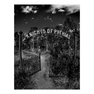 Knights of Pythias Gate Poster