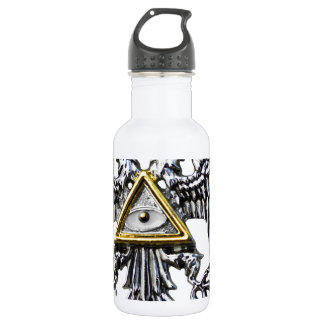 KNIGHTS OF TEMPLAR STAINLESS STEEL WATER BOTTLE