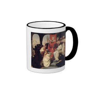 Knights of the Order of St. John of Jerusalem Ringer Coffee Mug