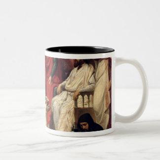 Knights of the Order of St. John of Jerusalem Two-Tone Coffee Mug