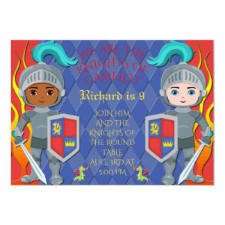 Knights of the Round Table Camelot Party Invite