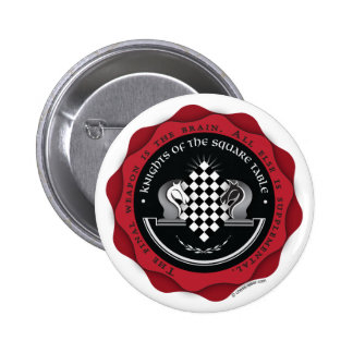 Knights of the Square Table Pinback Button