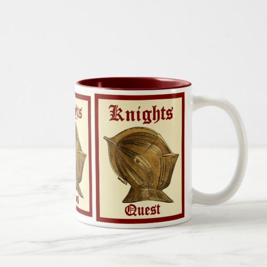 Knights Quest Two-Tone Coffee Mug