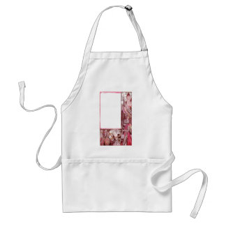 Knights Riding Horses and Bearing Shields Adult Apron