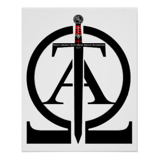 Knights Templar alpha and omega poster 01