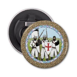 Knights Templar Bottle Opener