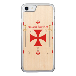 Knights Templar Carved iPhone 7 Case
