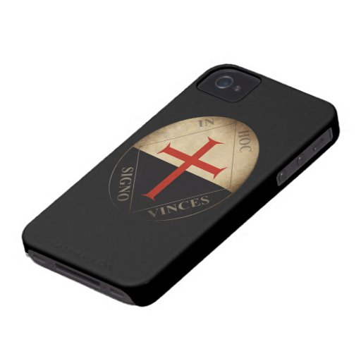 Knights Templar iPhone 4 Case-Mate Case