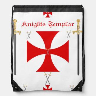 Knights Templar Cinch Bags