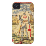 KNIGHTS TEMPLAR CLASSIC Case-Mate iPhone 4 CASES