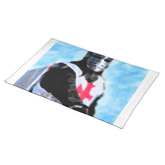 KNIGHTS TEMPLAR CLOTH PLACEMAT
