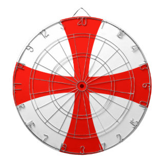Knights Templar Cross Dartboards