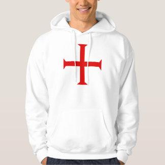 Knights Templar Cross - Hoodie. Hoodie