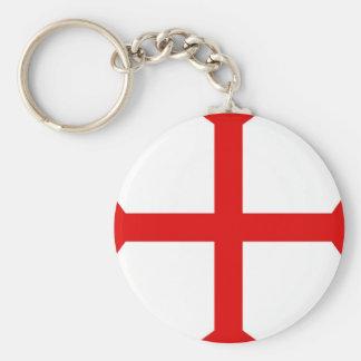 Knights Templar Cross Keychain