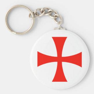 Knights_Templar_Cross Llavero Personalizado