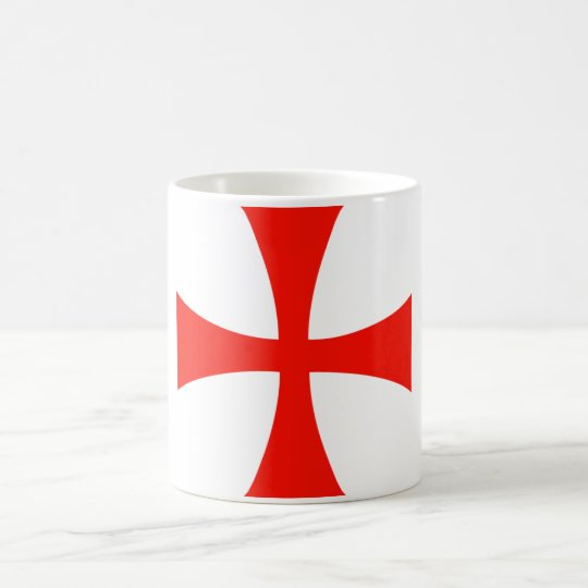 Knights Templar Cross Mug - Customized